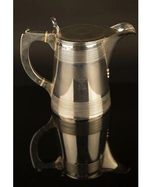 Tancard in argento XIX secolo