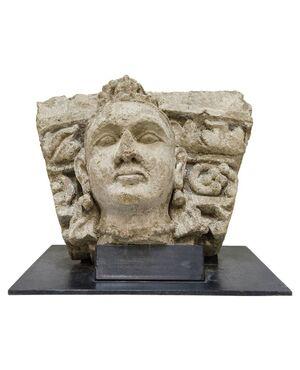 Pietra museale in altorilievo GANDHARA - M/222