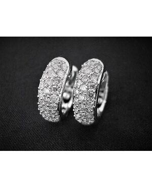 Orecchini   con  Diamanti   1   ct