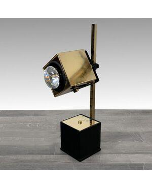 Lampada da tavolo direzionabile vintage illuminazione design anni '70