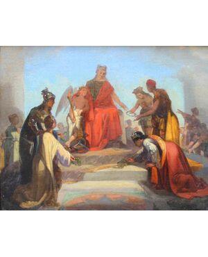 Scena Allegorica, Annibale Gatti (1827 - 1909), attr.