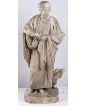 San Giovanni Evangelista, XIX secolo, marmo