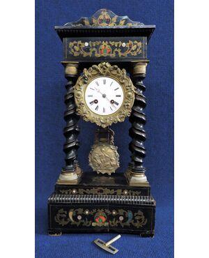 Orologio a pendolo Carlo X -cm 50 h- Francia XIX sec.
