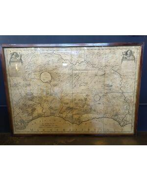 Mappa Patrimonio di S. Pietro XVIII sec.