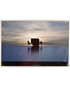"""FOTOGRAFIA da COLLEZIONE di NICOLA BRINDICCI """"ASSEMBLAGGIO ALL'ALBA"""" 5 esemplari oltre due Prove Artista 2008 50 x 70"""