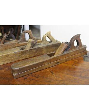 :  n. 3 pialle antiche da falegname !lavoro per banco. Lavorazione legno