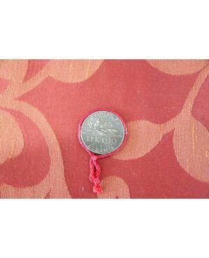 Moneta da collezione in bronzo 0,10 Lek Albania 1940 Vittorio Emanuele III EURO 35,00