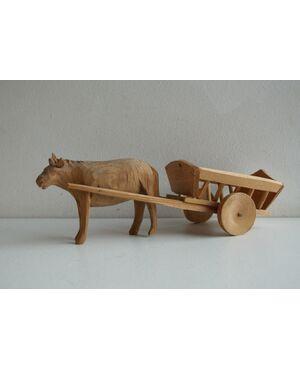 Tipico giocattolo in legno della Val gardena
