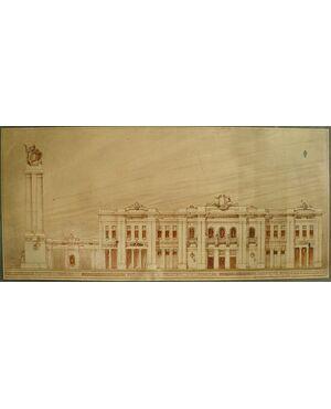 Proposta per la nuova Fiera di Milano (1920 circa)
