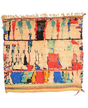 Primitivo antico tappeto AZILAL (Marocco) da collezione (n.106 CP)