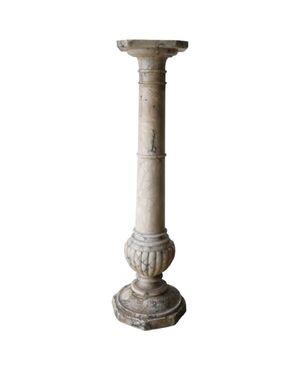 Colonna antica in marmo giallo metà sec. XIX PREZZO TRATTABILE