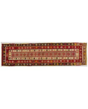 Antica passatoia kilim turca Keissary - n.1032