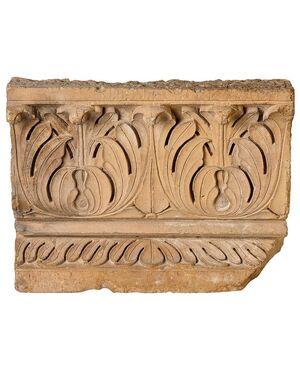 Antica pietra o fregio architettonico MOGUL - M/391
