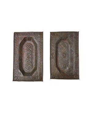 Coppia di antichi elemosinieri - O/1655
