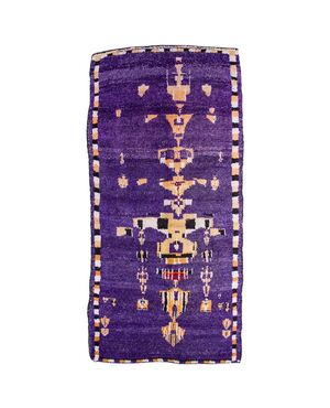 """Insolito tappeto MAROCCO con disegno """"lampadario"""" - n.1053"""