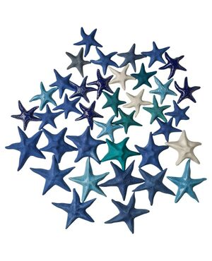 Serie di stelle in ceramica fatte a mano - O/1997