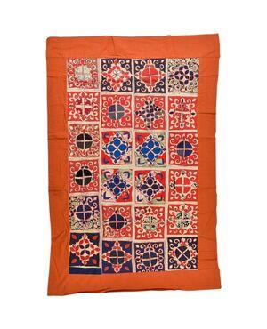 Patchwork di antichi tessuti ricamati Turkomanni - B/2241