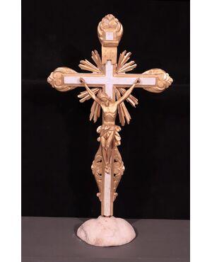 Crocifisso dorato, Toscana, inizi '700