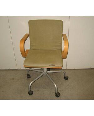 Sedia con braccioli da ufficio IKEA Vintage