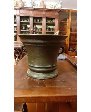 mortaio bronzo