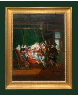 Scuola Trovatrice (1840 circa) - La Vengeance Du Cocu