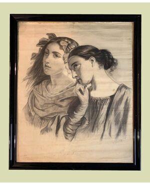 Scuola spagnola (fine XIX secolo) - Arroganza e modestia
