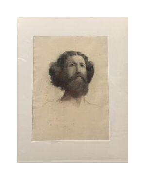 Scuola francese (fine XIX secolo) - Autoritratto