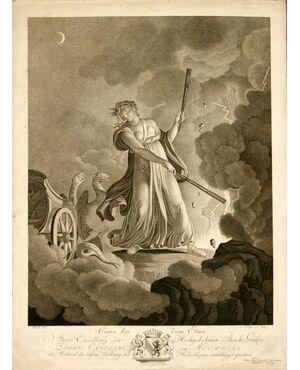 """Ceres bei dem Etna"" (Ceres sul cratere dell'Etna)"