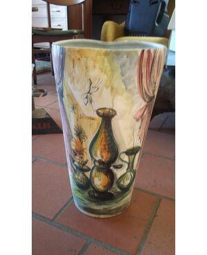 Portaombrelli in ceramica anni 50