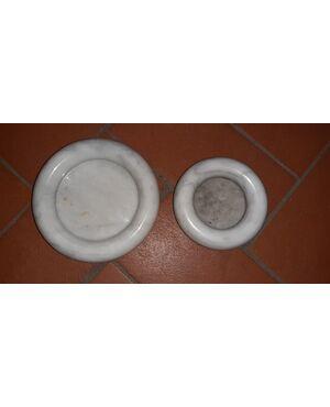 Svuota tasche in marmo design mangiarotti