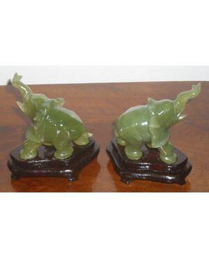coppia elefanti