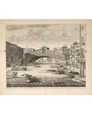 Vue du Pont de Rialto de Venise