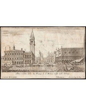 Altra veduta della due Piazza di st. Marco visto dell'Orloge