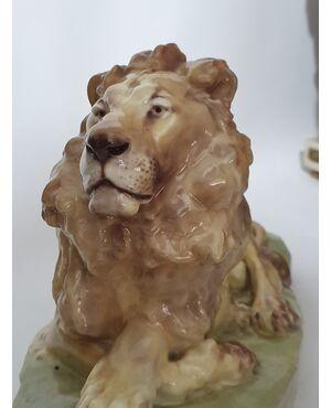 Goldscheider leone vecchia manifattura