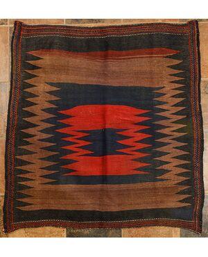 """Raro tappeto quadrato AFSHAR """"tovaglia"""" - n.836"""