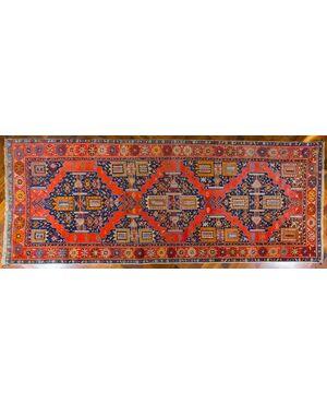 Tappeto antico Karabagh caucasico in lana