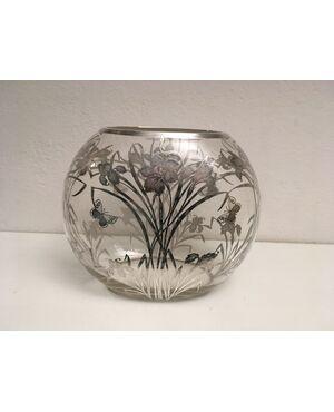 overlay vase