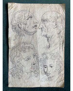 Bozzetto-disegno china su carta.