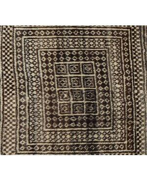 Raro tappeto GASHGAI (KASHKAI) con lane non tinte - n.1291